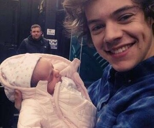 baby, styles, and harry image