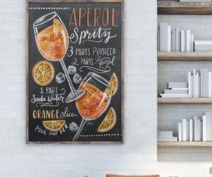 decor, juice, and fruit image