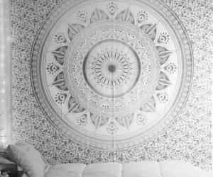 tapestry, indian tapestry, and mandala tapestry image