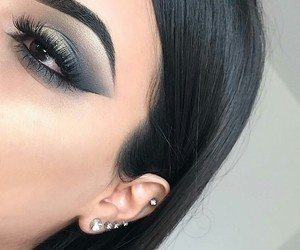 eye makeup, beautiful perfect, and lady woman women image