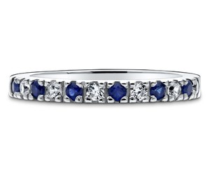 sterling silver, cz, and berricle image