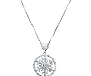 heart, cz, and medallion image