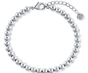 bead, bracelet, and silver image