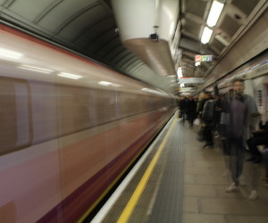london, metro, and time travelling image