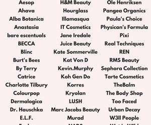 brands, makeup, and make up image