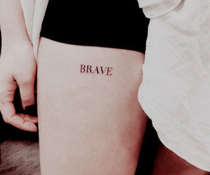 brave, bravery, and text image