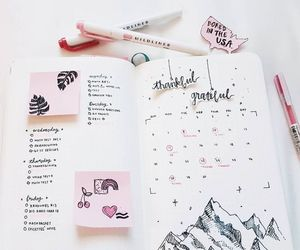 planner and bullet journal image