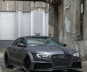 audi, car, and grey image