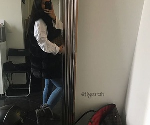 bag, Louis Vuitton, and clothes image