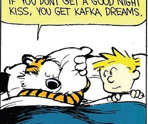 Calvin & Hobbes, childhood, and life image