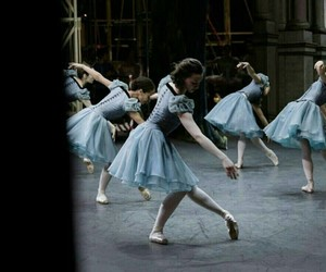 ballet, blue, and fashion image