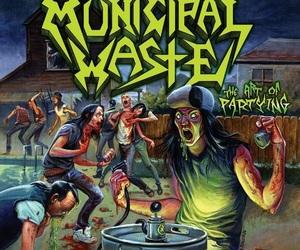 thrashmetal and municipalwaste image