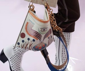 bag, boots, and design image