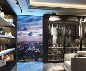 luxury, home, and closet image