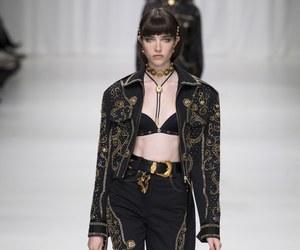Versace and fashion image