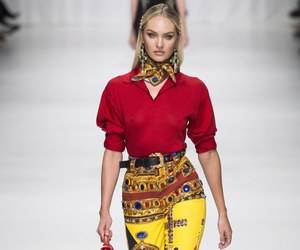candice swanepoel, Versace, and model image