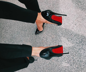 shoes, louboutin, and style image