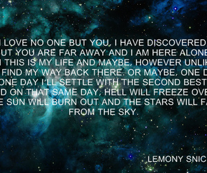 lemony snicket, quote, and love image