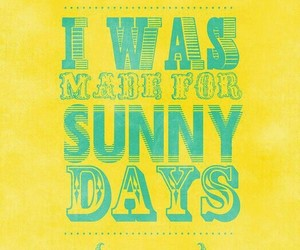 quotes, Sunny, and teal image