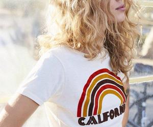 hair, california, and blonde image