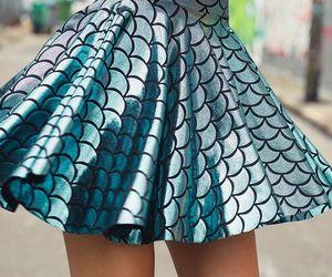 skirt and mermaid image