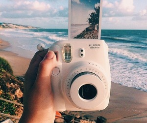 beach, summer, and hipster image