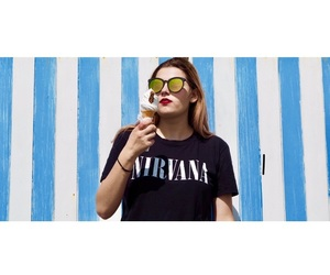 brighton, ice cream, and nirvana image
