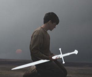 boy and sword image