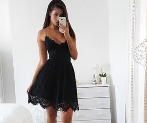 homecoming dresses, black homecoming dresses, and homecoming dress image