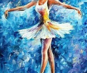 art and ballerina image