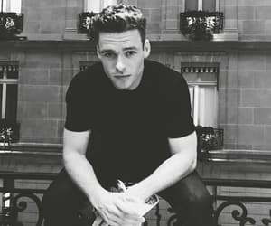 Hot, black and white, and richard madden image