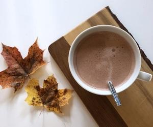 autumn and hotchocolate image