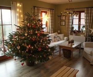 christmas, cozy, and house image
