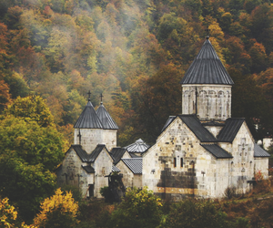 armenia, church, and autumn image
