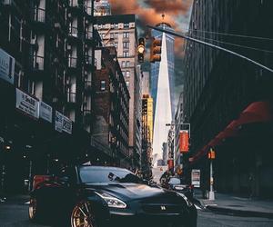 black, car, and nissan image