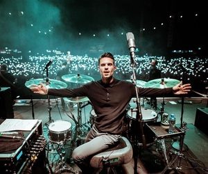 drummer, you me at six, and daniel david flint image
