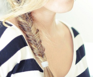 awesome, braid, and cheveux image