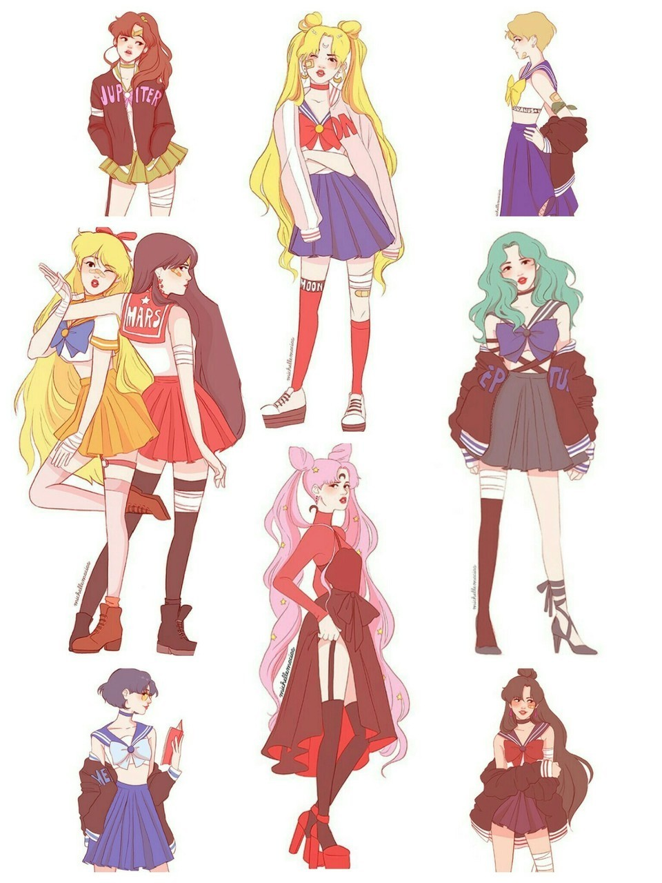 Image About Wallpaper In Sailor Moon By Sndr