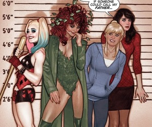 harley quinn, poison ivy, and archie comics image
