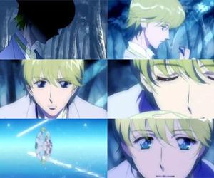 anime, eyes, and knight image