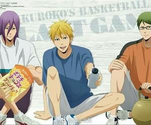 anime, kuroko no basket, and love image
