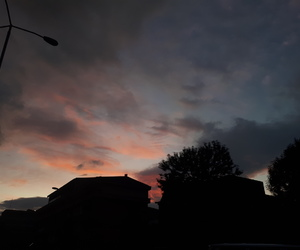 autumn, beautiful, and night image