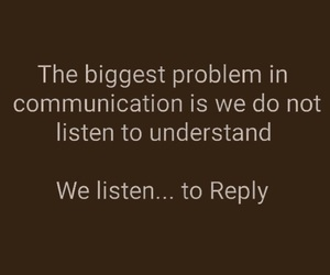 communication, deep, and quotes image