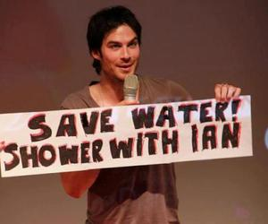 ian somerhalder and love image