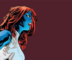 comics, Marvel, and mystique image