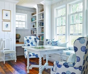 breakfast nook, country living, and home decor image