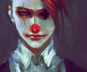 clown, art, and anime image