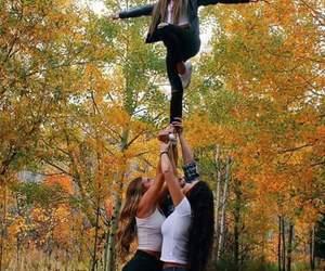 cheer, cheerleader, and girls image