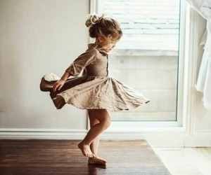 baby, dance, and happiness image