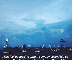 quotes, sad, and empty image
